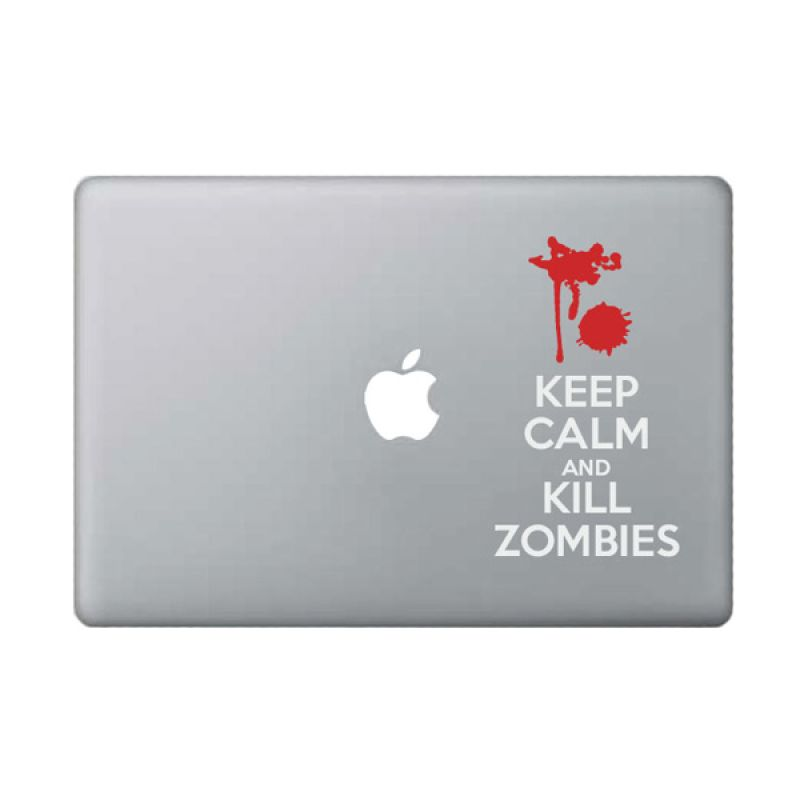 KATZEdecal Kill Zombies White