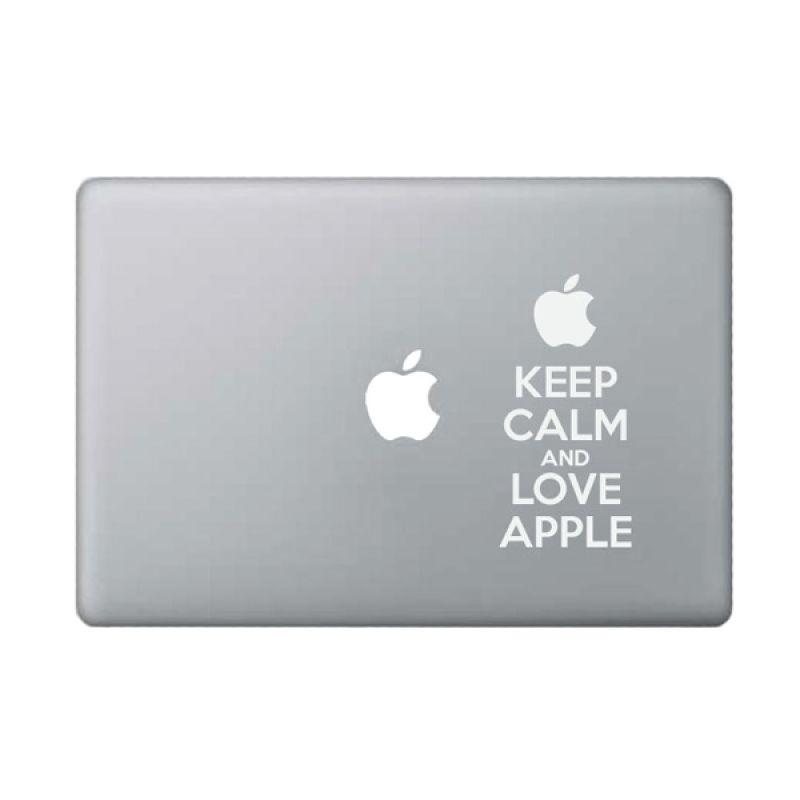 KATZEdecal Love Apple White