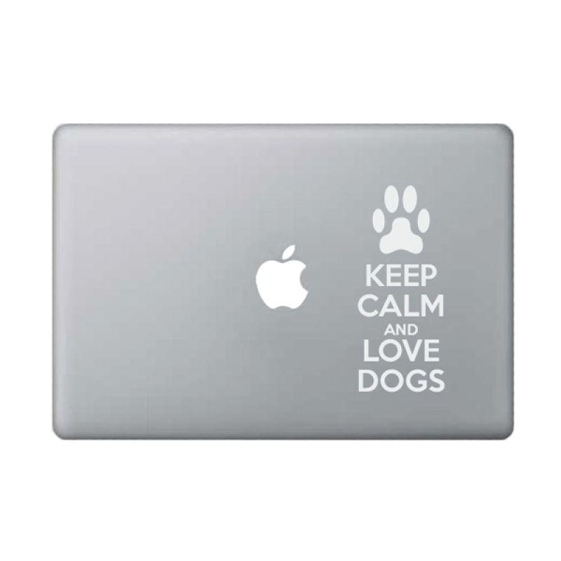 KATZEdecal Love Dogs White