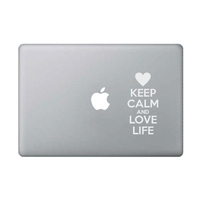 KATZEdecal Love Life White