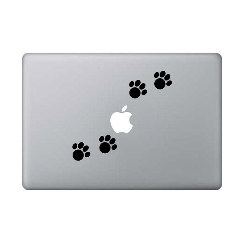KATZEdecal Paw Black