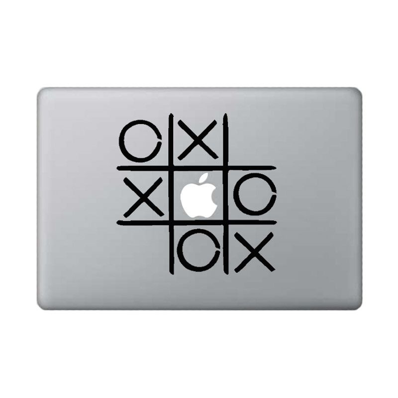 KATZE decal TicTacToe Black