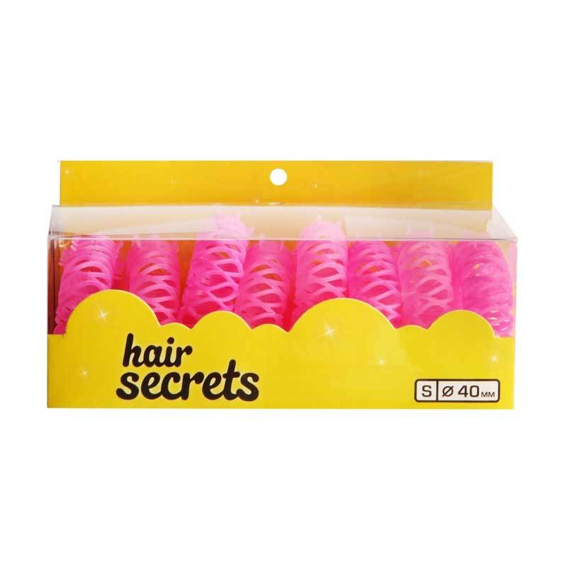 Hair Secret 10MM Curly Quick Pink