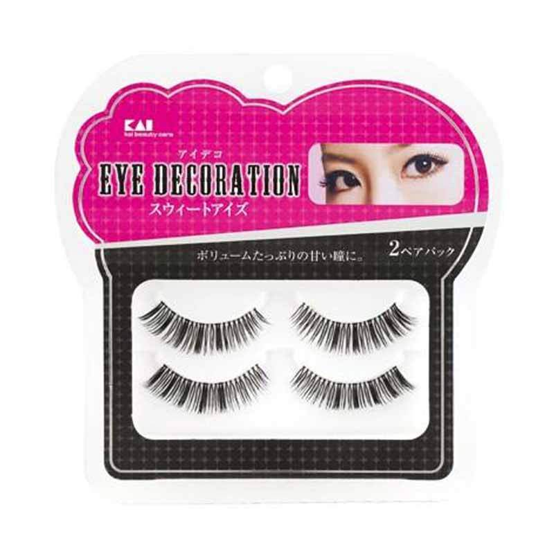 KAI 2-Pack Eyelash Decorative HC-1531 Sweet