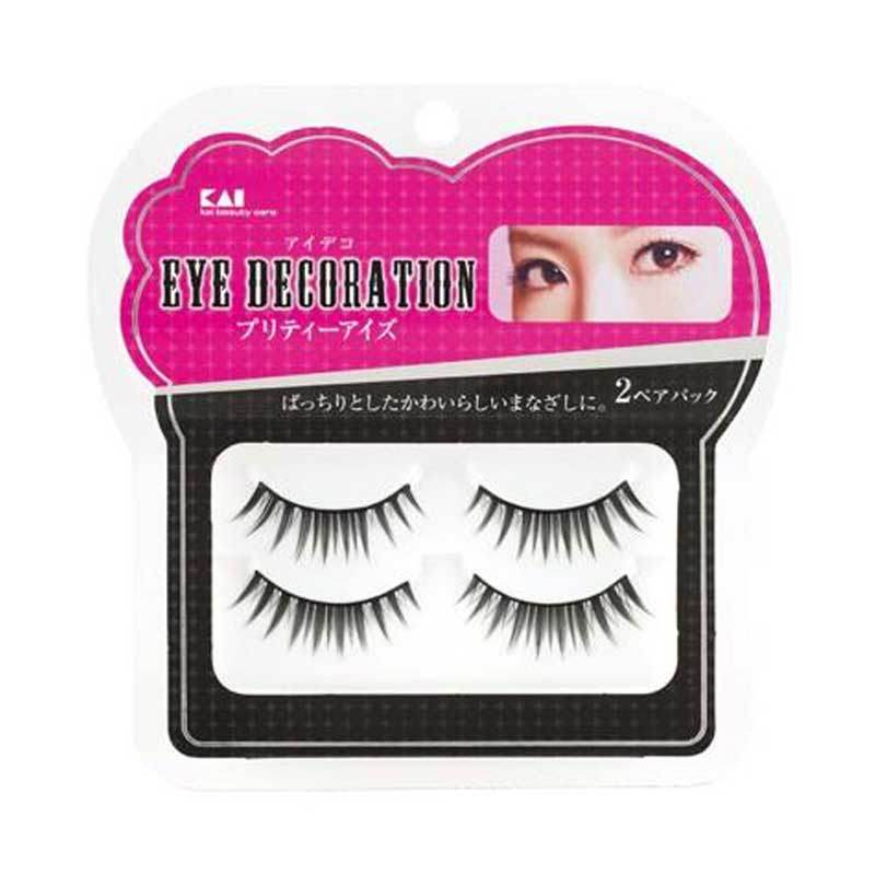 KAI 2-Pack Eyelash Decorative HC-1536 Pretty