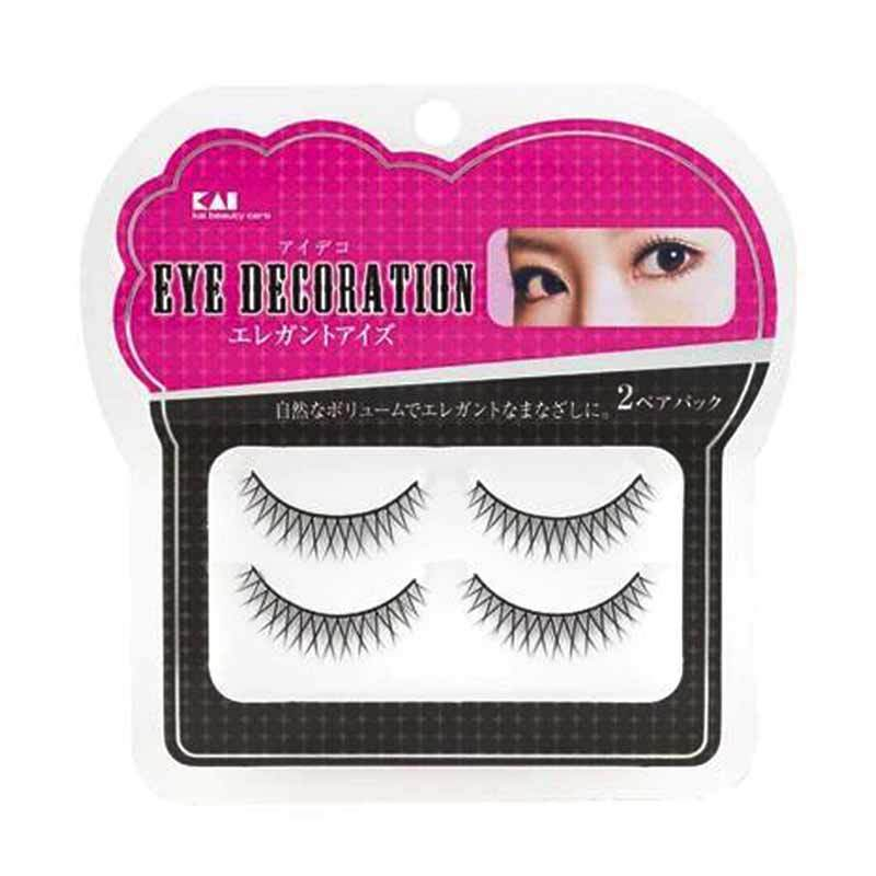 KAI 2-Pack Eyelash Decorative HC-1538 Elegant