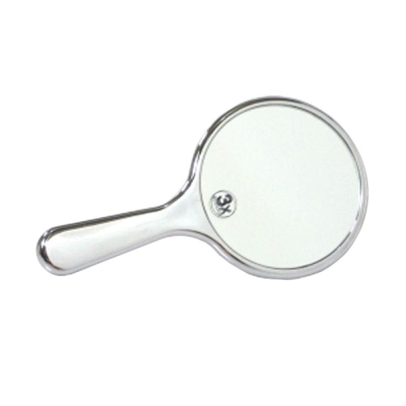 Kay Beauty 3X Mini Hand Mirror