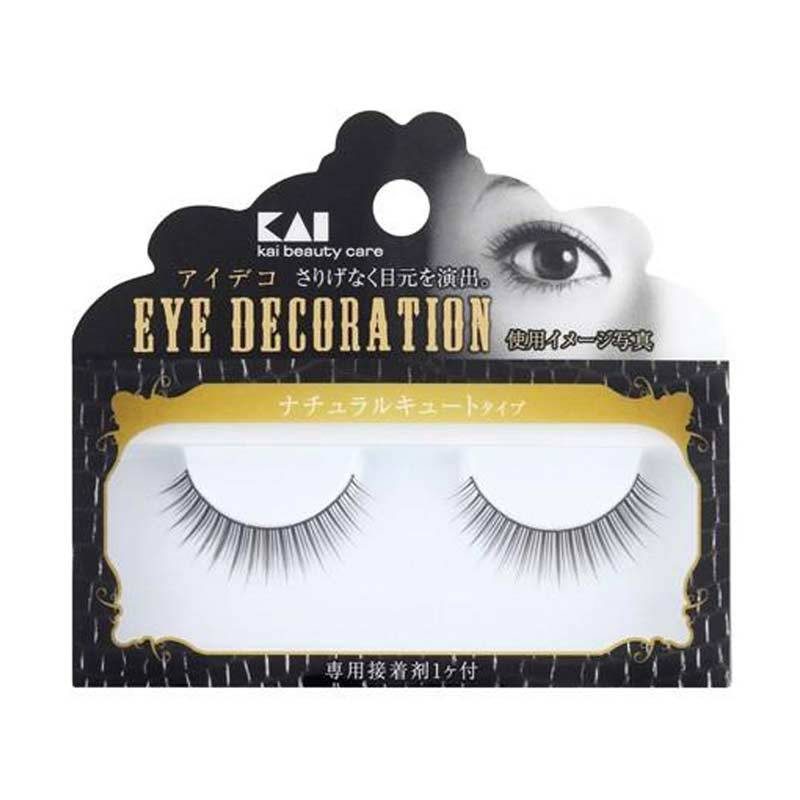KAI Eyelashes Decorative HC-1502 Natural Cute