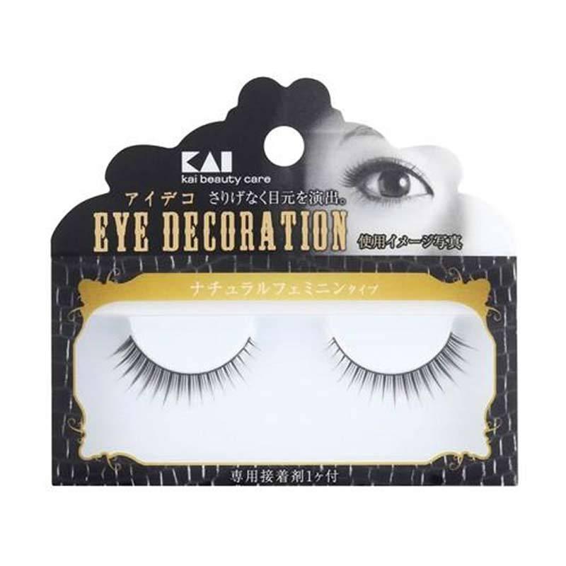 KAI Eyelashes Decorative HC-1505 Natural Feminine