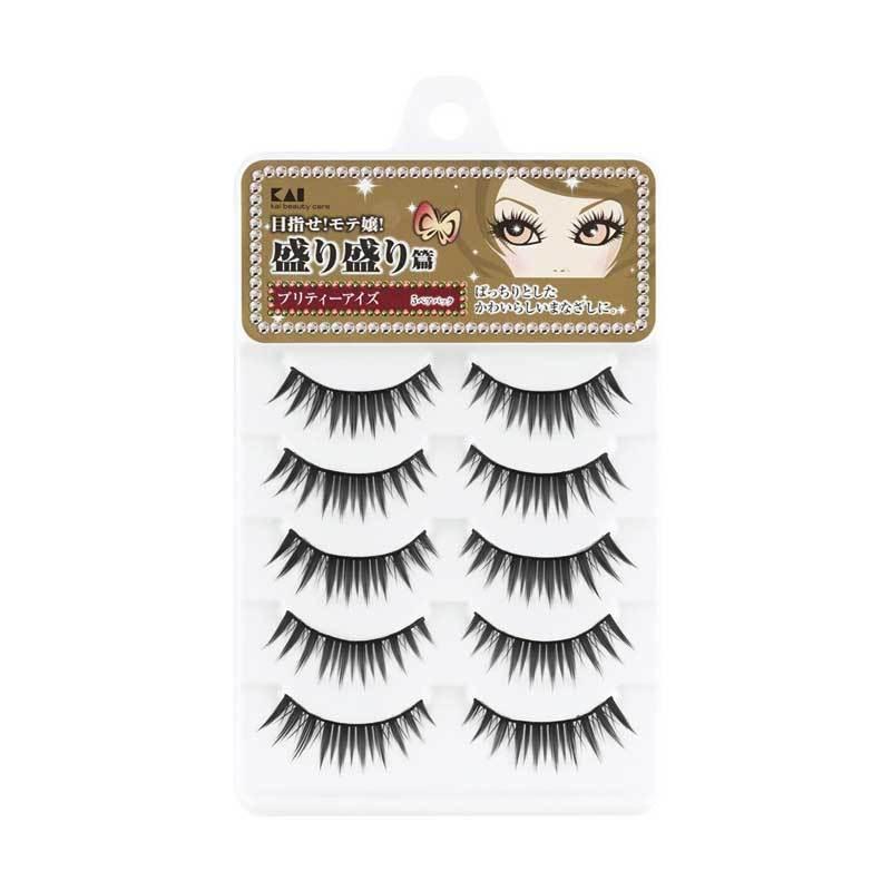 KAI Kiramori 5-Pack Eyelash Pretty HC-1487