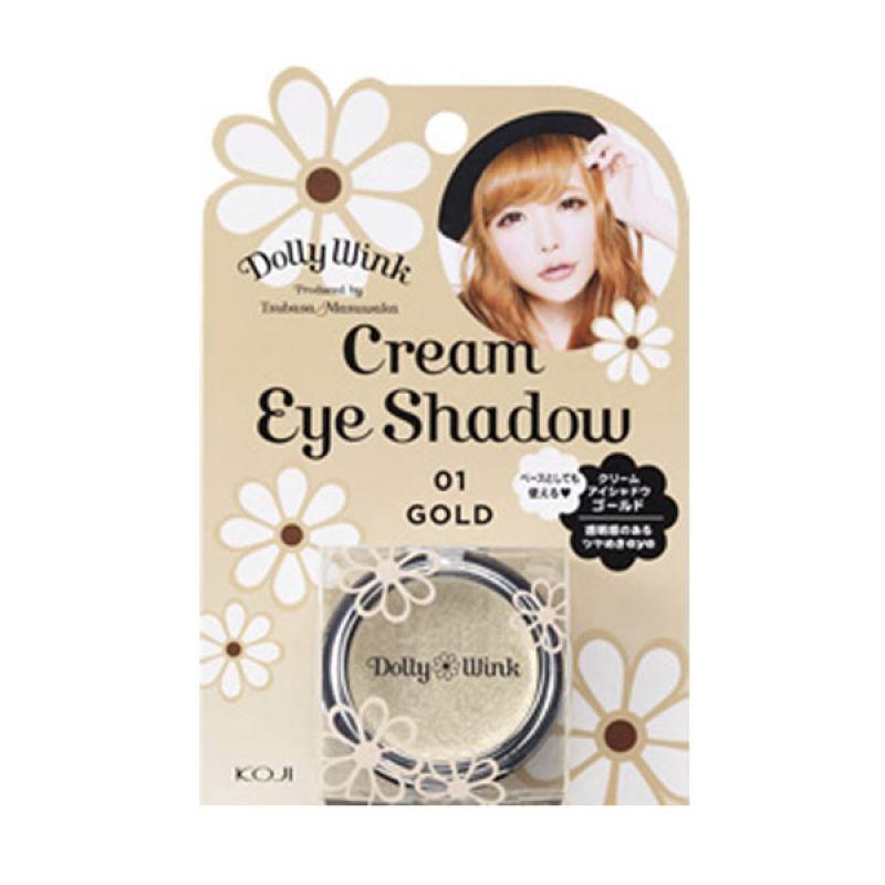 Koji Cream Eye Shadow ii Gold 2DW3754