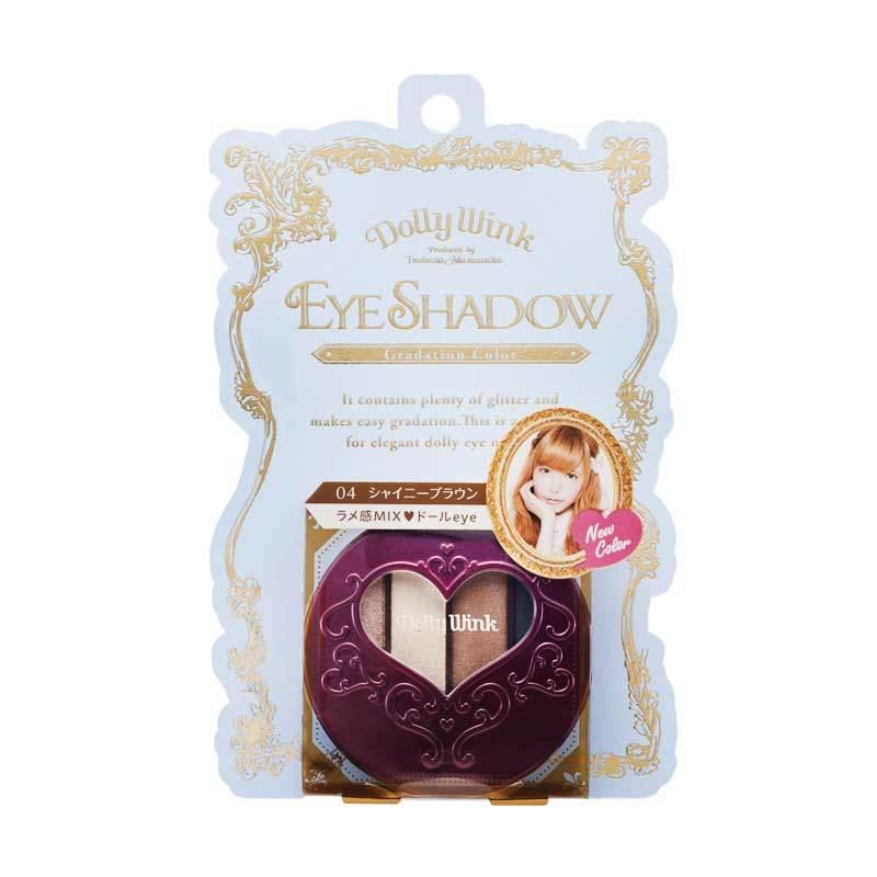 Koji Dolly Wink Eye Shadow #04 Shiny Brown 2DW3755