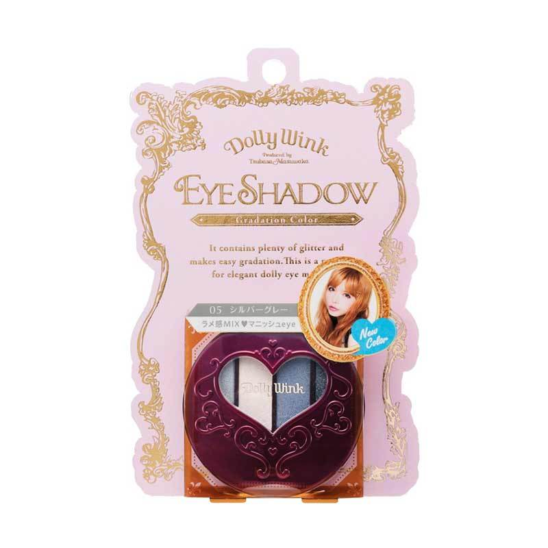 Koji Dolly Wink Eye Shadow #05 Silver Gray 2DW3756