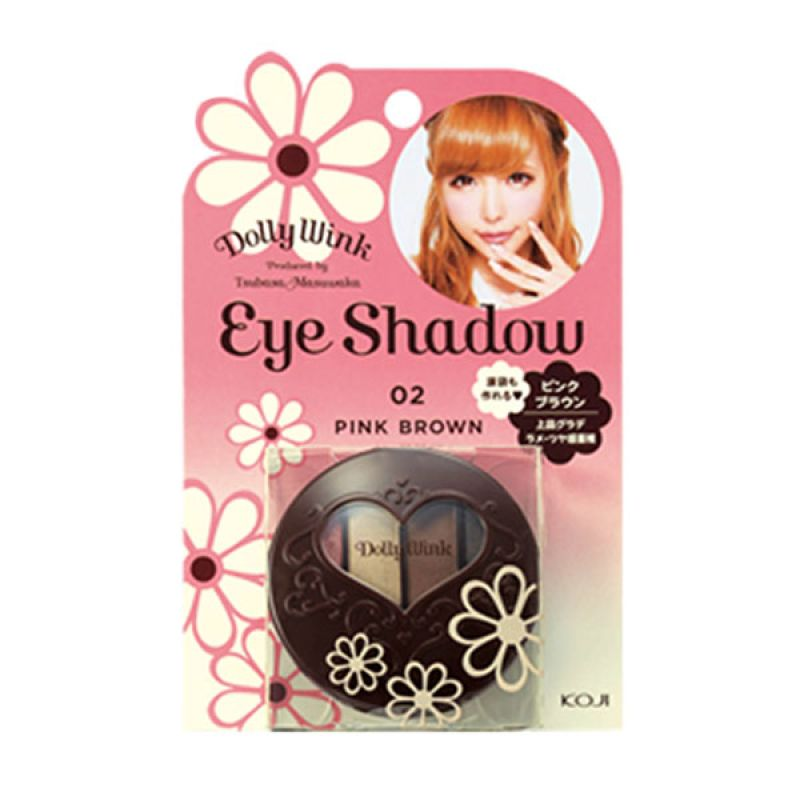 Koji Pink Brown Eye Shadow 2DW3752