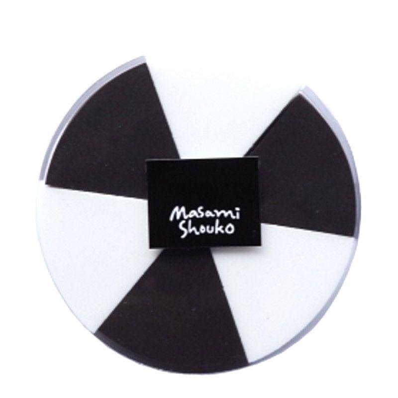 Masami Shouko Black and White Pie Sponge [6 Pcs]