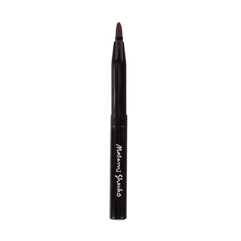 Masami Shouko Automatic Lip Brush Hitam Peralatan Make-Up