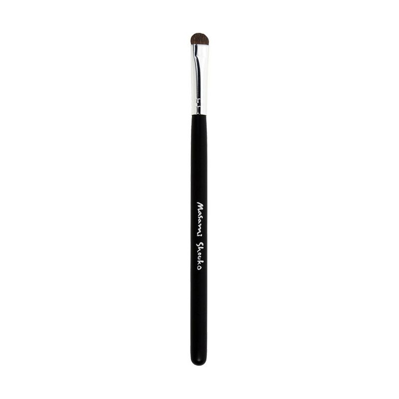 Masami Shouko Lid Brush Silver Hitam Peralatan Make-Up [Size S]