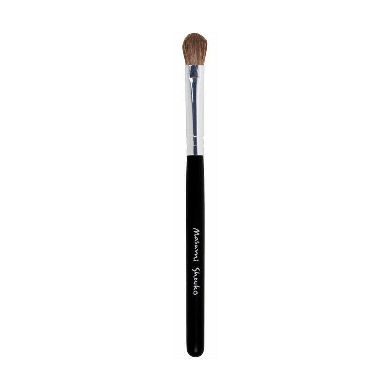 Masami Shouko Small Blending Brush Silver Hitam Peralatan Make-Up