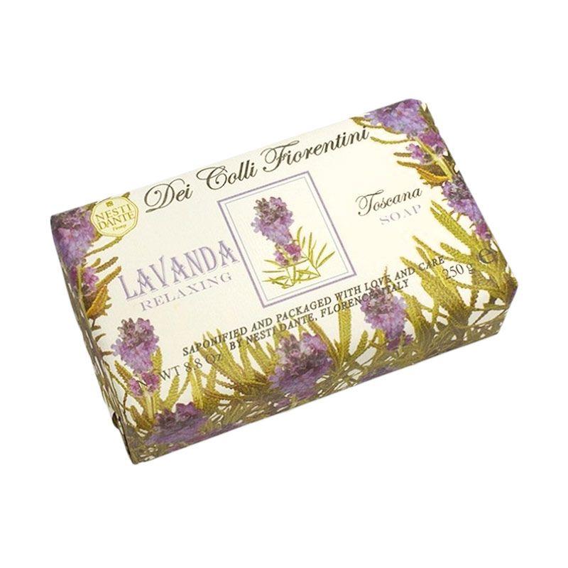 Nesti Dante Dei Colli Fiorentini Tuscan Lavender Sabun Mandi [250 gr]