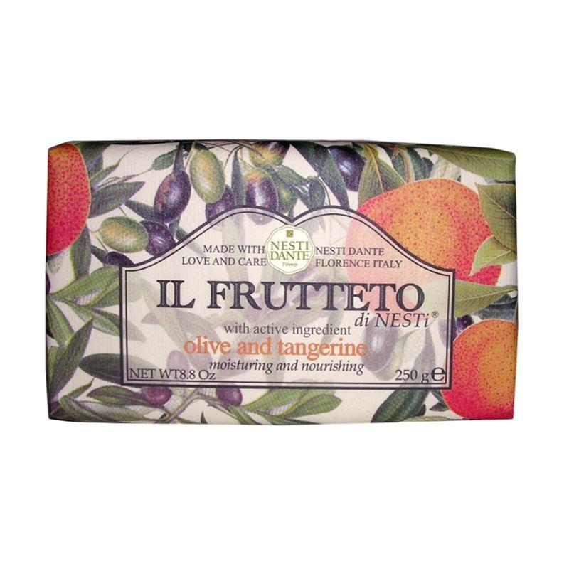 Nesti Dante Il Frutteto Olive And Tangerine Sabun Mandi [250 gr]
