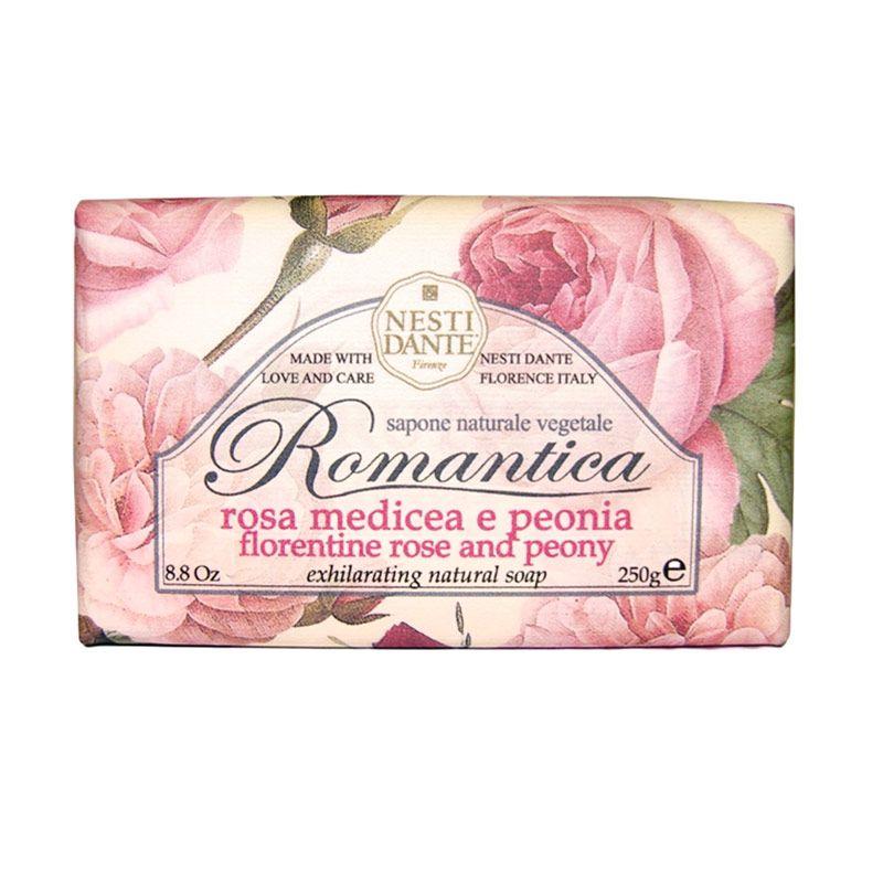 Nesti Dante Romantica Florentine Rose And Peony Sabun Mandi [250 gr]