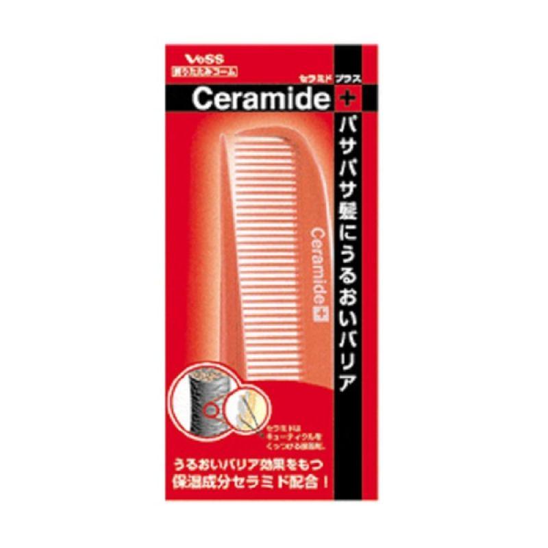 Vess Ceramide CRM-450 Slim Travel Comb