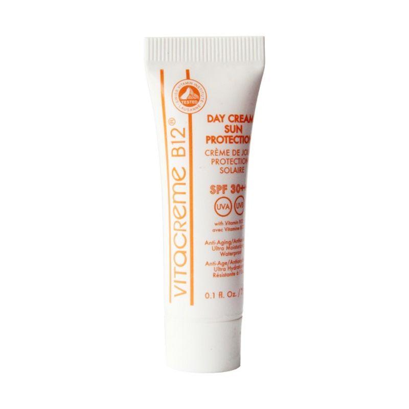 Vitacreme B12 Day Cream Protection Cream Wajah [3 mL]