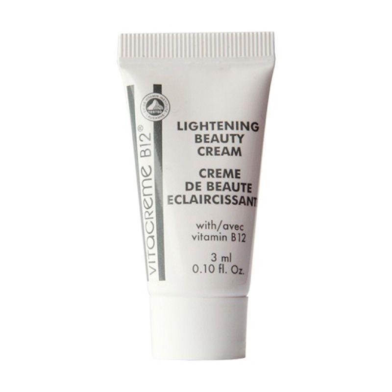 Vitacreme B12 Lightening Beauty Cream Wajah [3 mL]