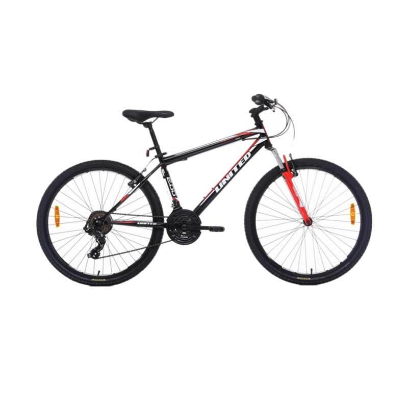 harga United Monanza 2.0 Hitam [MTB 26 Inch] Sepeda Gunung Blibli.com
