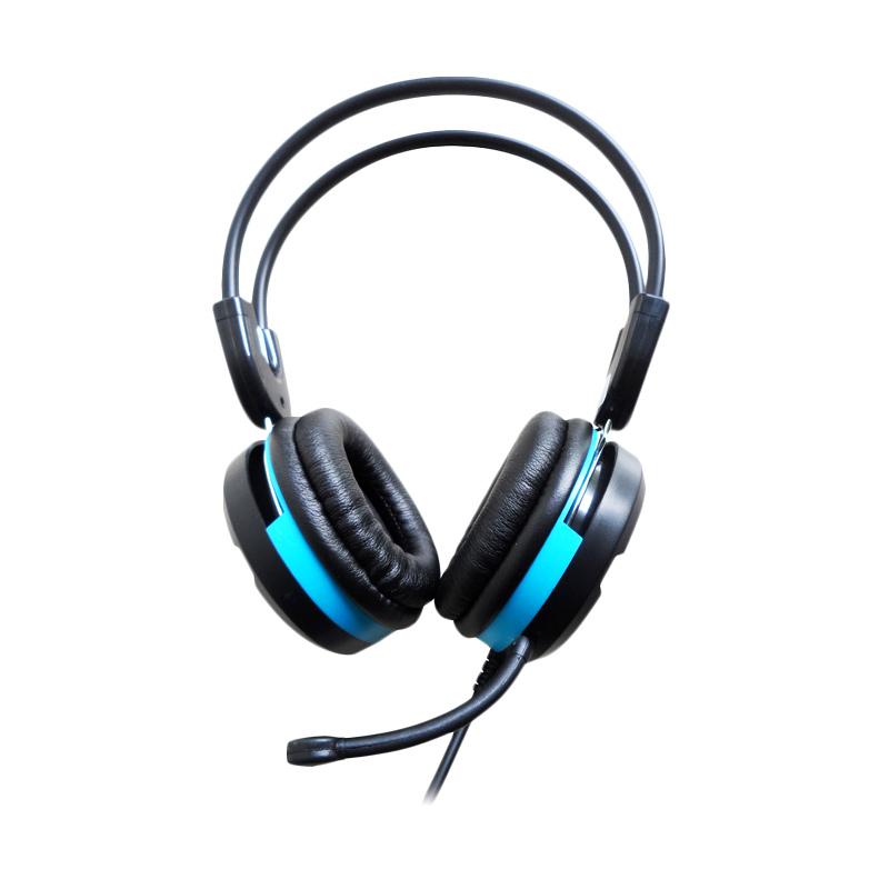 harga Keenion KOS 888 Super Gaming Headset - Black Blue Blibli.com