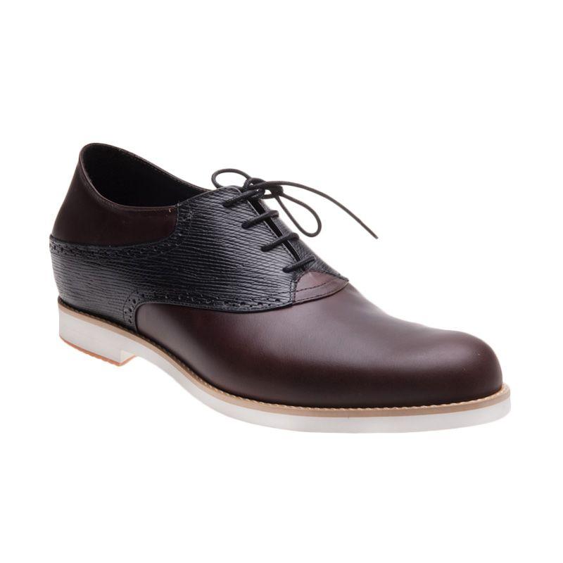 Keeve KBP-080 Coklat Hitam Sepatu Pria