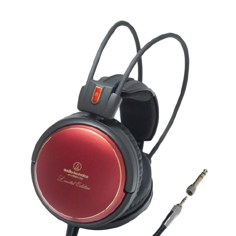 Audio Technica A900X Black Red Headphone [Limited Edition]