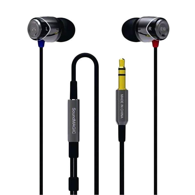 SoundMagic E10S Hitam Headset