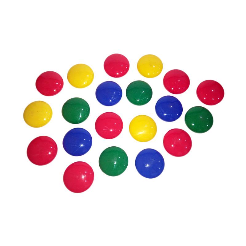 Keiko Push Color Biru Merah Magnet