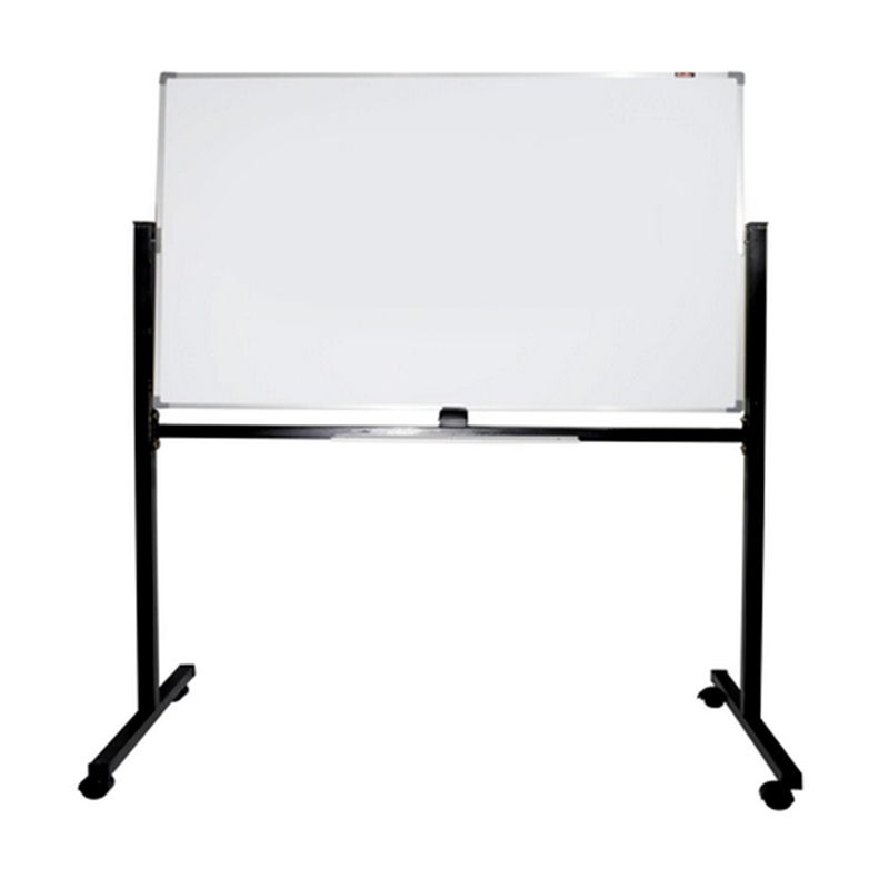 Keiko Single Face Stand White Board [120 x 240 cm]