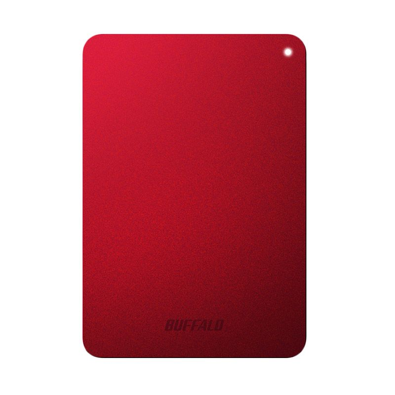 Buffalo MiniStation Safe USB 3.0 Red Hard Disk [HD-PNF1.0U3BR-AP/1 TB]