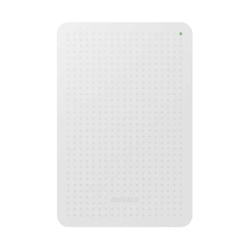 Buffalo MiniStation USB 3.0 White Hard Disk [HD-PCF1.0U3BW-AP/1 TB]