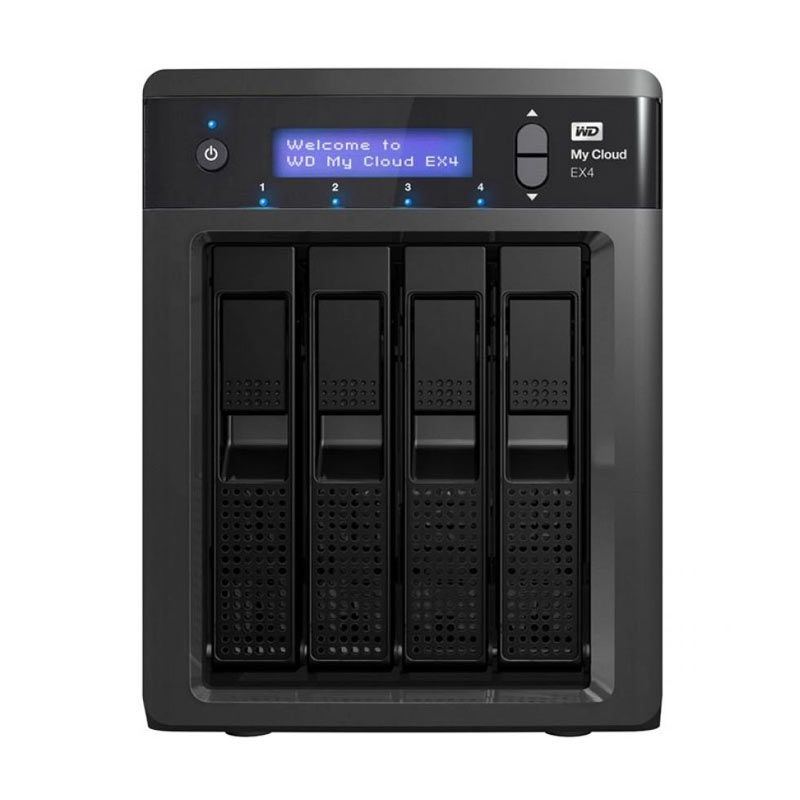 WD Nas My Cloud EX4 16TB Black