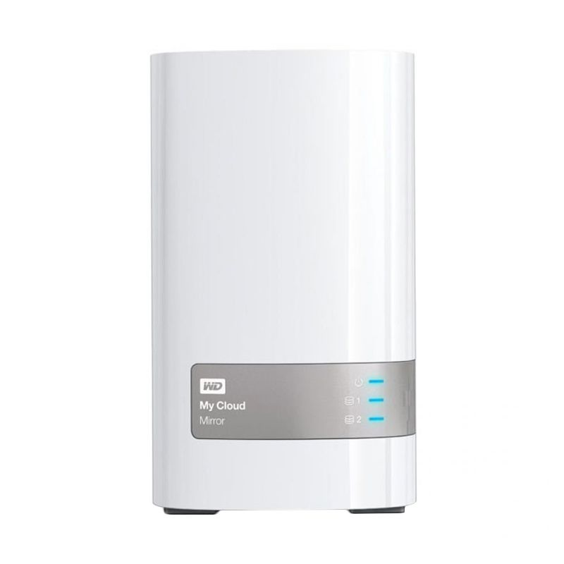 WD Nas My Cloud Mirror 12TB Putih