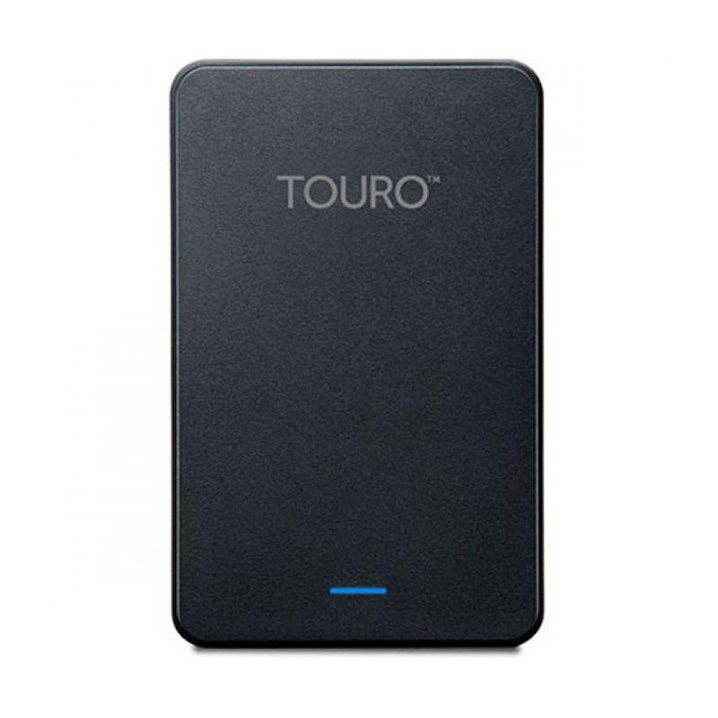 Hitachi Hardisk Eksternal Touro 500GB Black