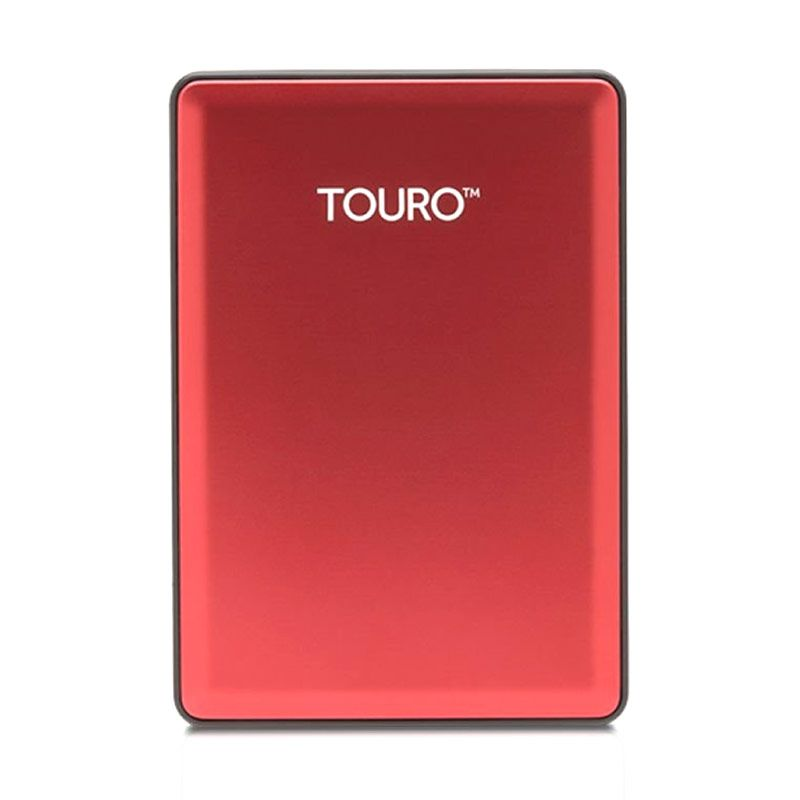 harga Hitachi Hardisk Eksternal Touro S 1TB Red Blibli.com