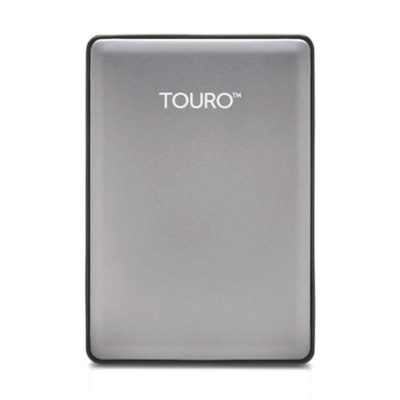 Hitachi Hardisk Eksternal Touro S 500GB Gray