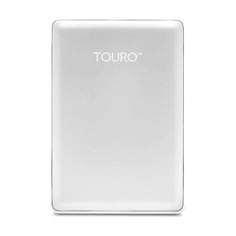 Hitachi Hardisk Eksternal Touro S 500GB Silver