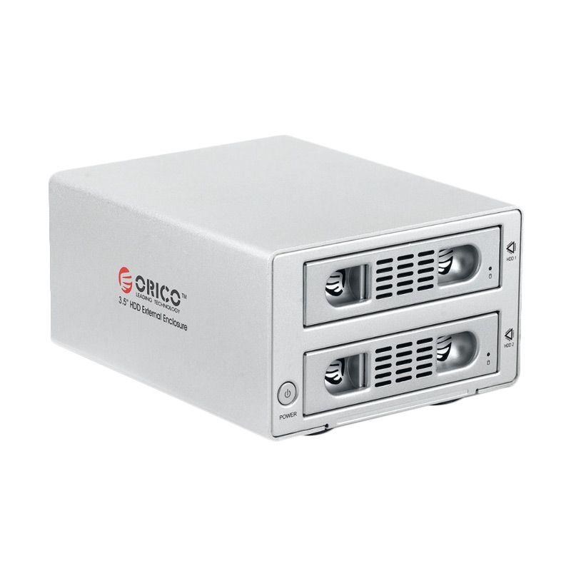 Orico 3529SUS3-C Silver Hardisk Enclosure [3.5