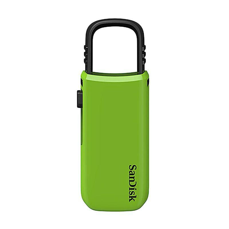 Sandisk Cruzer U 32 GB Hijau Flash Disk