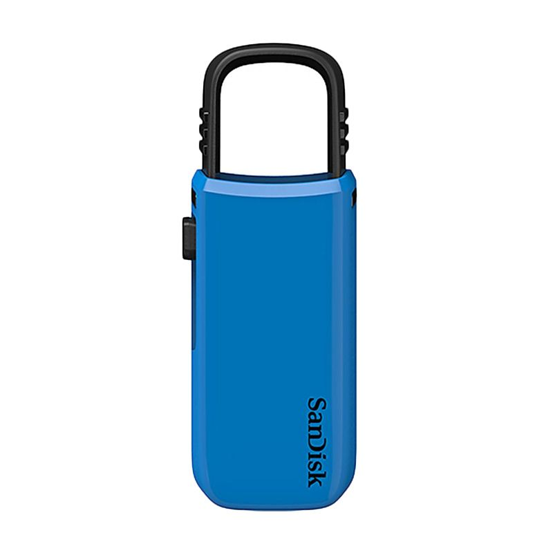 Sandisk Cruzer U 8 GB Biru Flashdisk