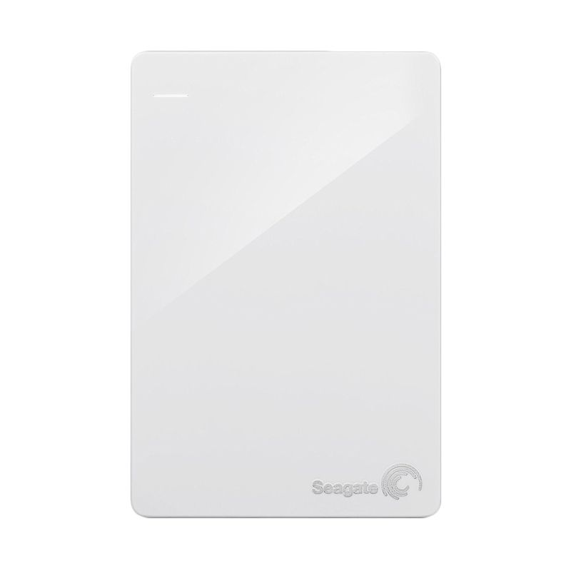 Seagate Backup Plus Slim White Harddisk Eksternal [1 TB]