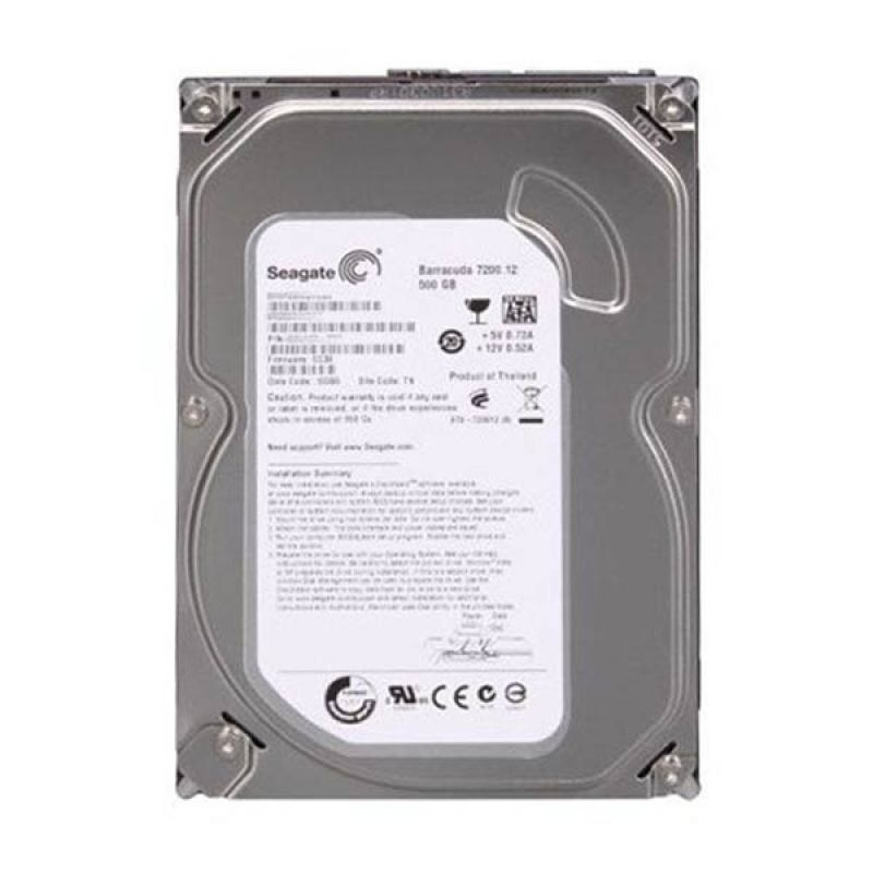 Seagate Harddisk Internal Barracuda 500GB 3.5
