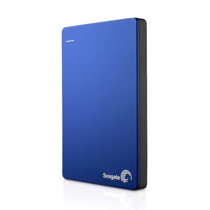 Seagate Hardisk Eksternal Backup Plus Slim 1TB Blue