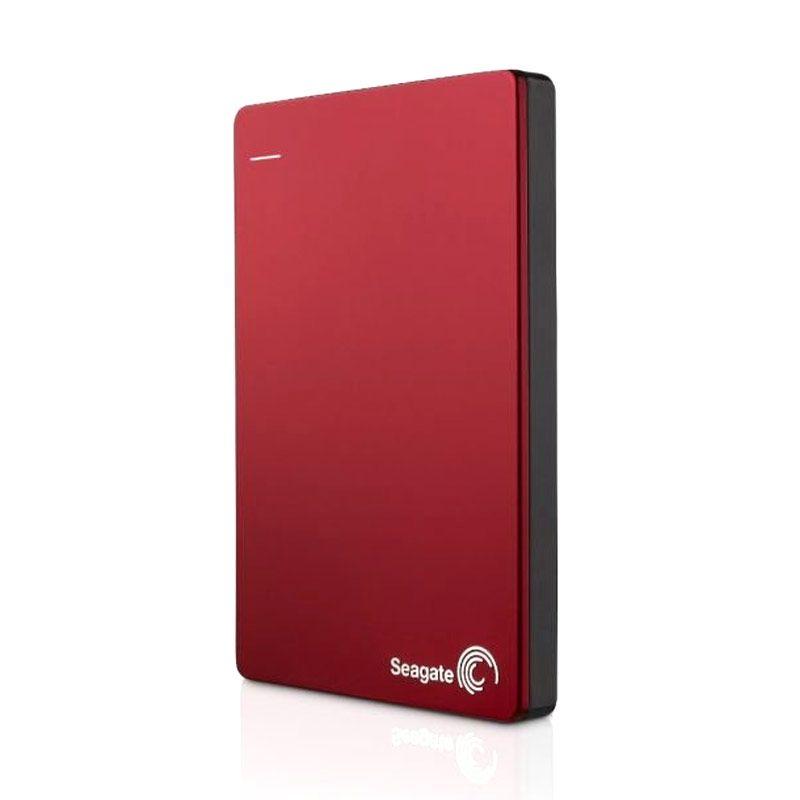 Seagate Hardisk Eksternal Backup Plus Slim 1TB Red